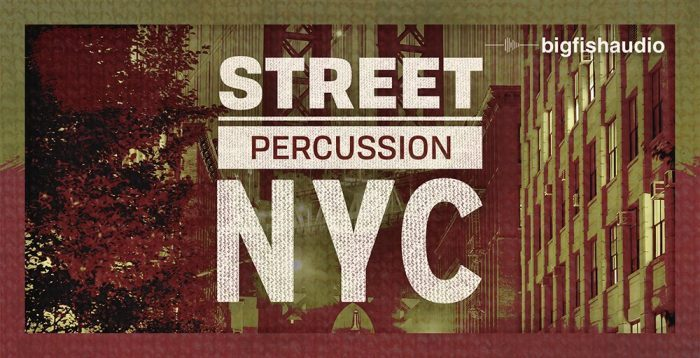 Big Fish Audio Street Percussion NYC