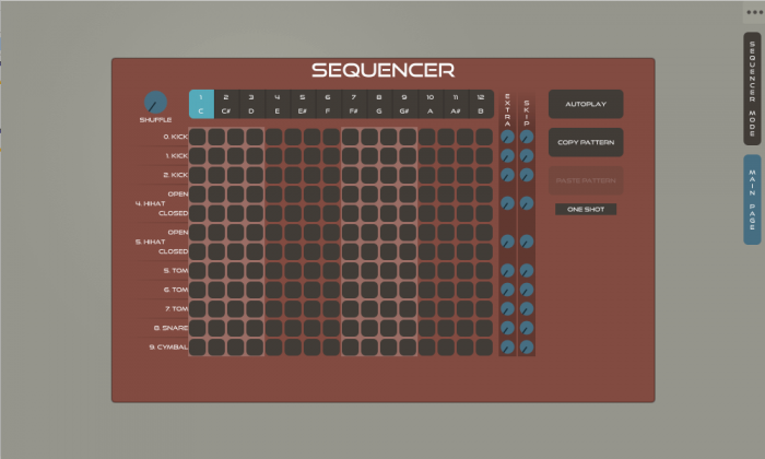 GuDa AUdio DrumR 2.2 sequencer