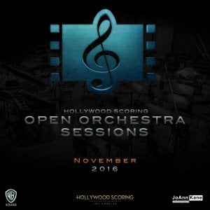 Hollywood Scoring Open Orchestra Sessions