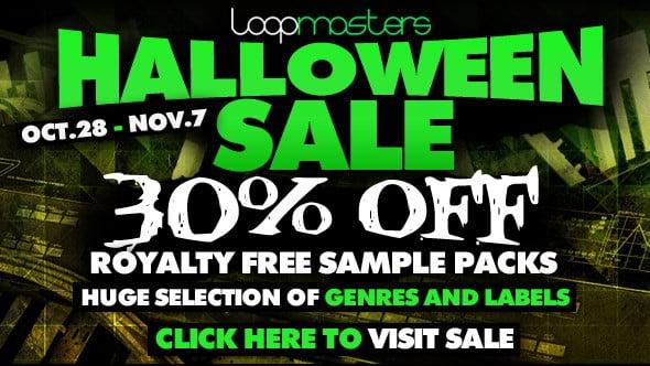 Loopmasters Halloween Sale