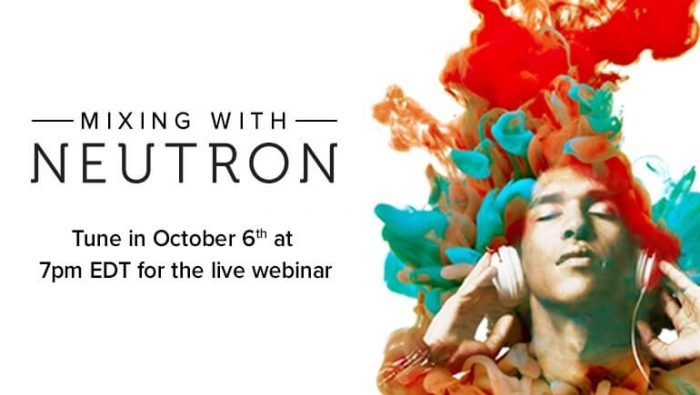 Mixing with Neutron webinar