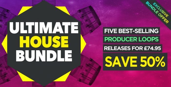 Producer Loops Ultimate House Bundle