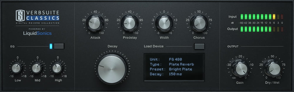 Slate Digital VerbSuite Classics plugin released