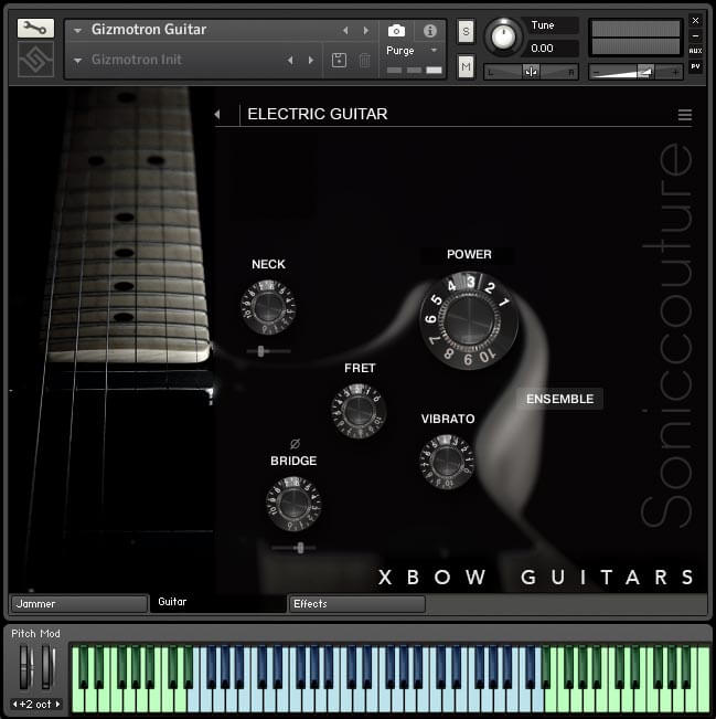 Soniccouture Xbow Guitars Gizmatron
