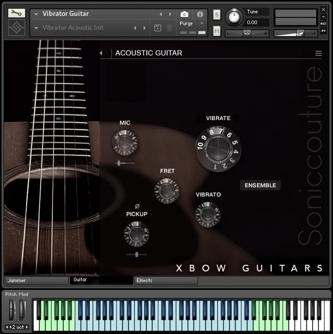 Soniccouture Xbow Guitars Vibrator Guitar
