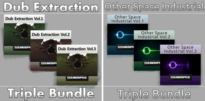 SoundSpice Dub Extraction & Other Space Industrial Triple Bundles