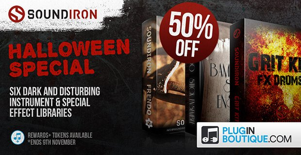 Soundiron Halloween Sale