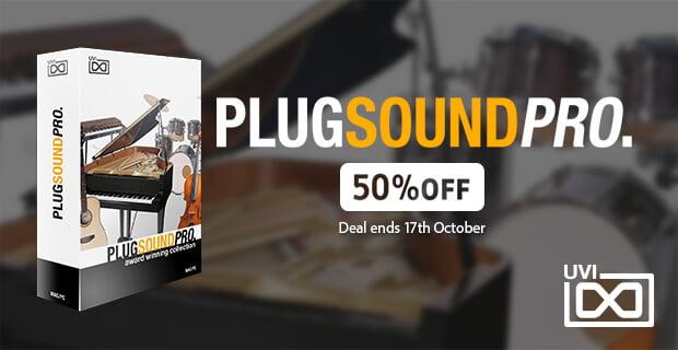 UVI PlugSound Pro sale