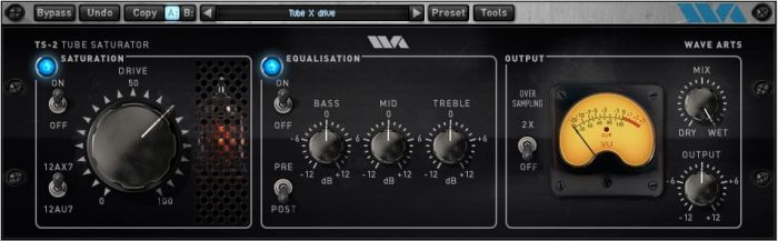 Wave Arts Tube Saturator 2