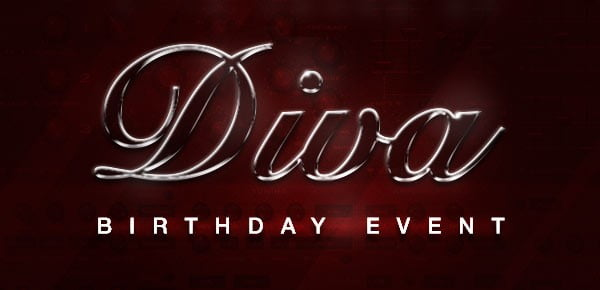 Diva Birthday Event