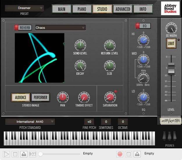 Garritan Abbey Road Studios CFX Lite studio