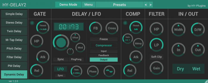 HY Plugins HY Delay2 1.2