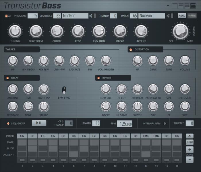 Image Line TransistorBass