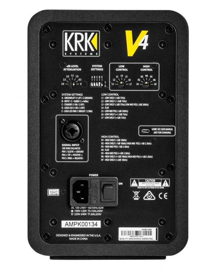 KRK V Series 4 back
