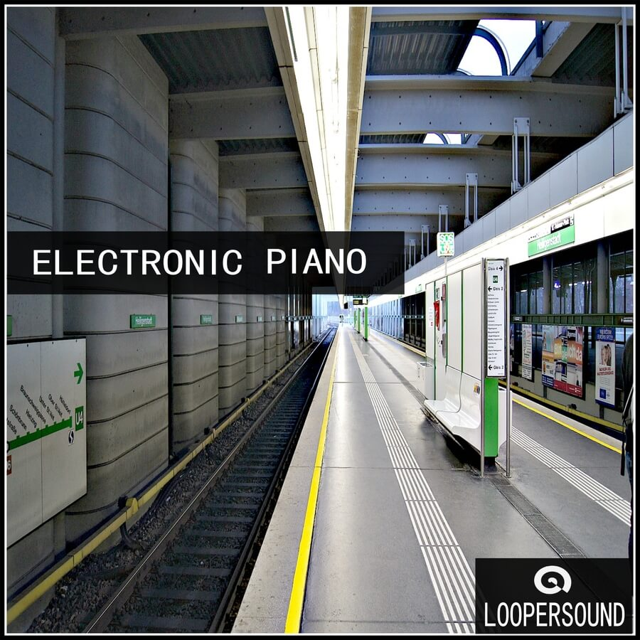 Loopersound electronic piano sample pack released for Piano house anthems