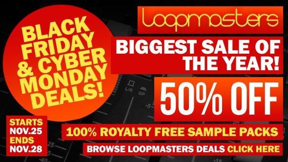 Loopmasters BF sale