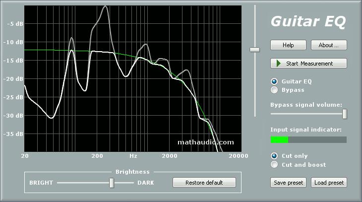 MathAudio Guitar EQ
