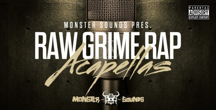 Monster Sounds Raw Grime Rap Acapellas