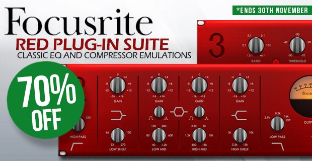 PIB Focusrite Red Plugin Suite extended