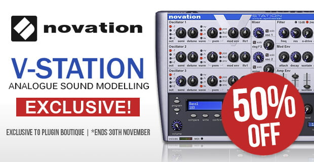 PIB Novation V Station extended