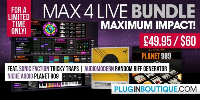 Plugin Boutique Max for Live Bundle