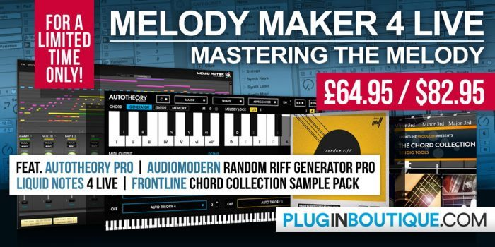 Plugin Boutique Melody Maker 4 Live Bundle