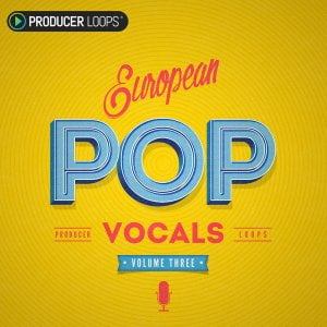 Producer Loops European Pop Vocals V3
