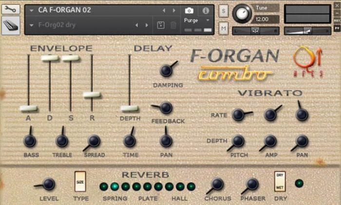 Q Up Arts California F Organ