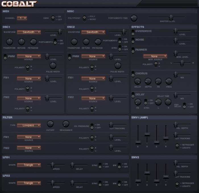 Sanford Sound Design Cobalt