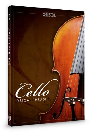 Sonuscore Lyrical Cello Phrases pack