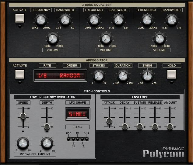 Synth Magic Polycom arp