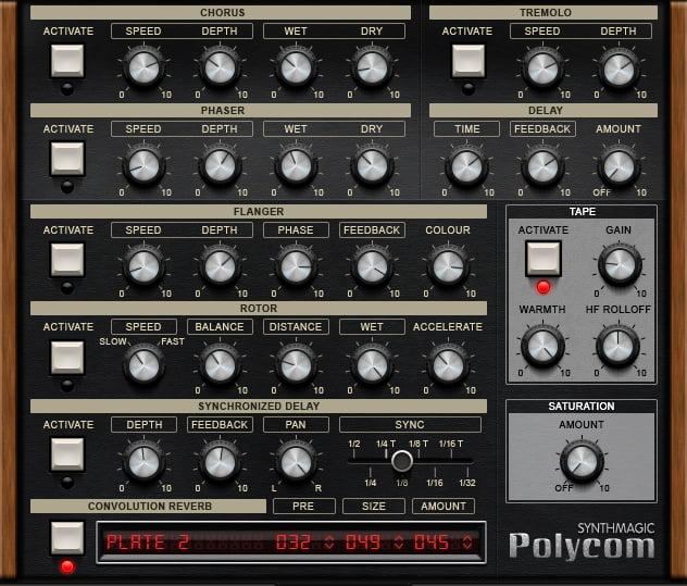 Synth Magic Polycom fx