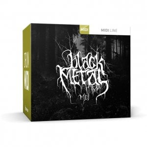 Toontrack Black Metal MIDI pack