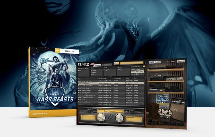 Toontrack Metal Bass Beasts EZmix Pack