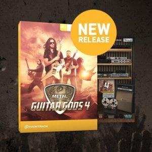 Toontrack Metal Guitar Gods 4 EZmix Pack feat