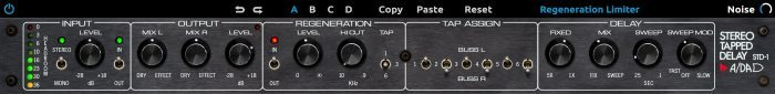 Universal Audio ADA STD 1 Stereo Tapped Delay