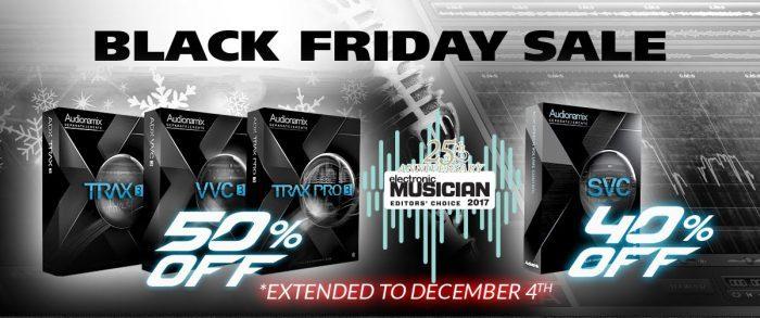 audionamix black friday sale extended