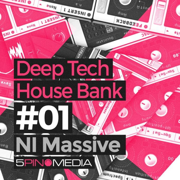 5Pin Media Deep Tech House Bank for Massive