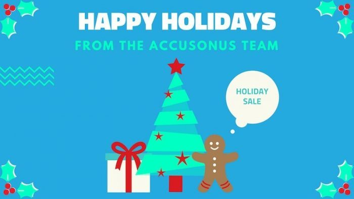 Accusonus Holiday Sale