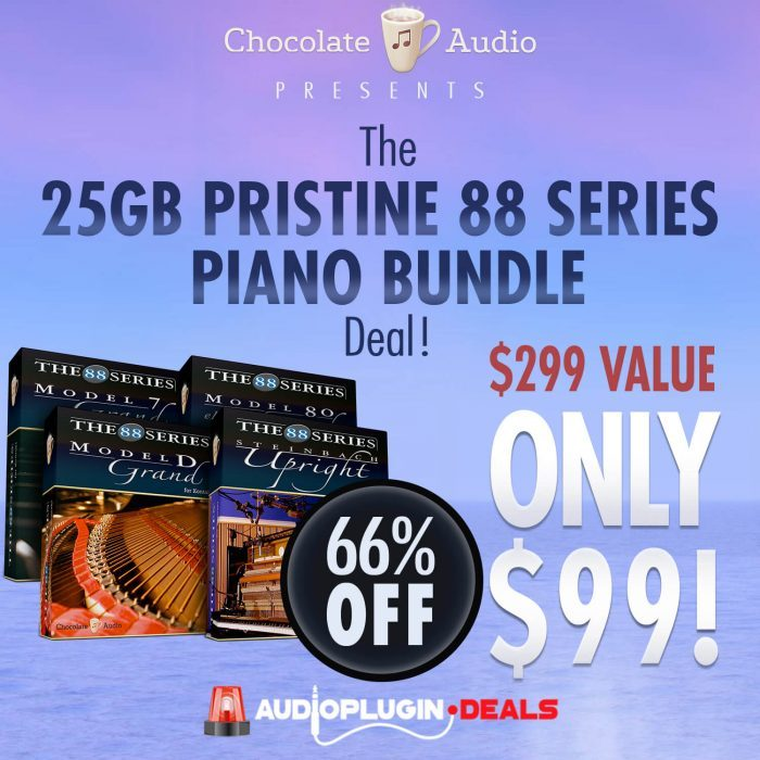 Audio Plugin Deals Chocolate Audio 88 Series