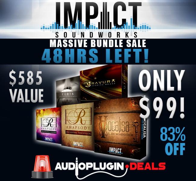 Audio Plugin Deals Impact Soundworks 48 hours