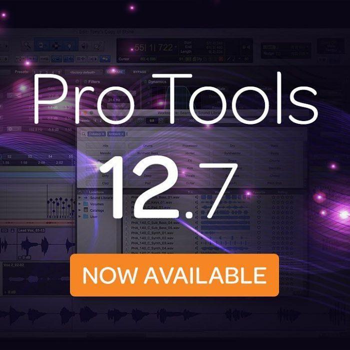 Avid Pro Tools 12.7