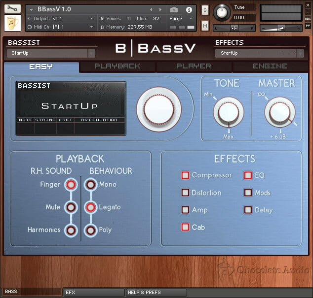 Chocolate Audio BBass V