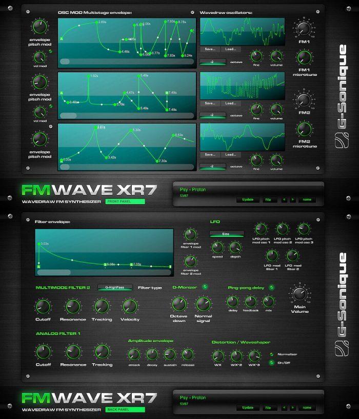 G Sonique FM WAVE XR7