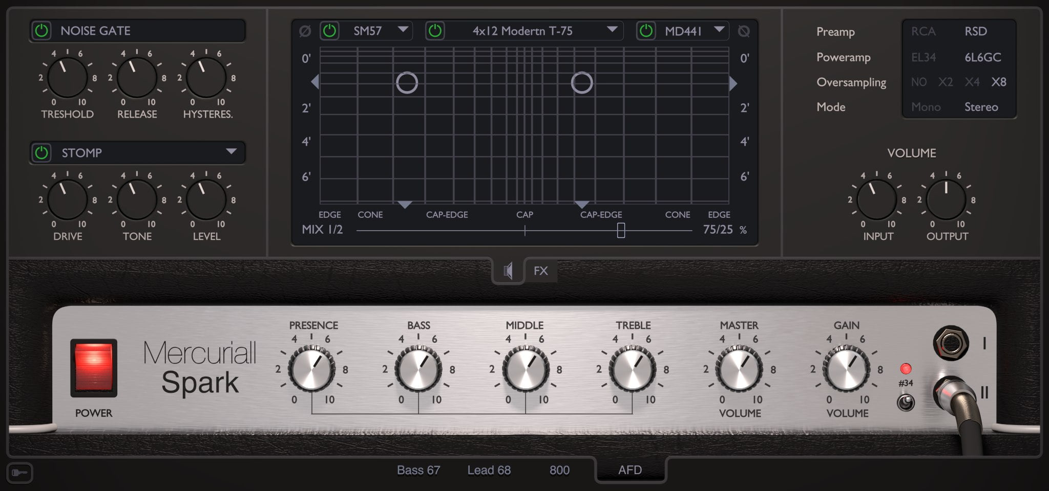 spark amp sim plugin by mercuriall audio software released