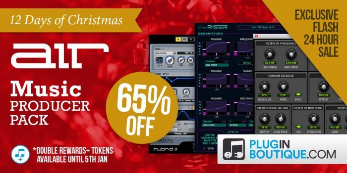 PIB AIR Music Producer Pack sale 12 days