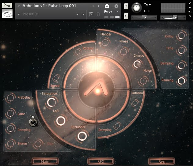 Particular Sound Aphelion Cinematic Loops 2.0 effects