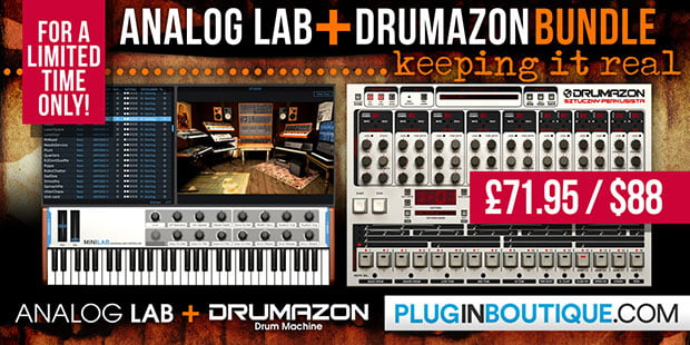 Plugin Boutique Analog Lab Drumazon Bundle