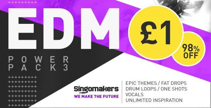 Singomakers EDM Power Pack 3 Sale