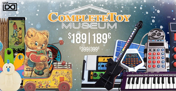 UVI Complete Toy Museum Sale